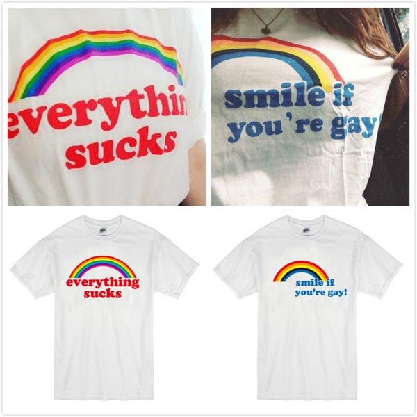 cute, Fashion, #fashion #tshirt, rainbow