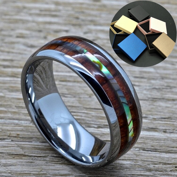 8MM, tungstenring, Fashion, Jewelry