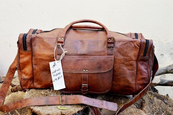 leatherluggagebag, leathercabinbag, brown, leather