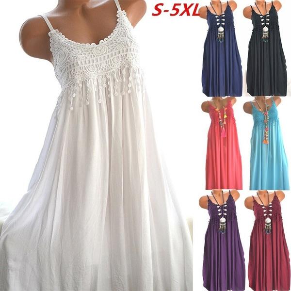 Summer, summer dress, Lace, Ladies Fashion
