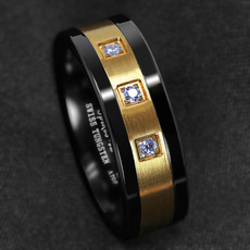 ringsformen, 8MM, Jewelry, gold