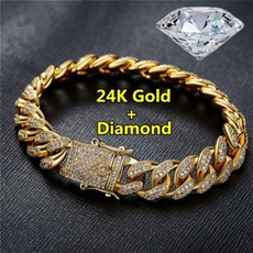 24kgold, 18k gold, Fashion, hip hop jewelry