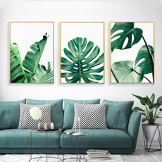 tropicalleave, Turtle, greenleafdecor, Wall Art