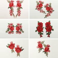 Fashion, Rose, clothingapplique, embroideryflower