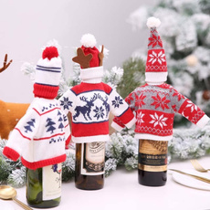 Fashion, Knitting, Christmas, Bottle