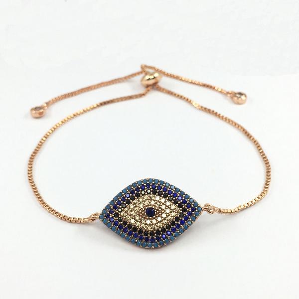 eye, Jewelry, braceletscharm, micropavebracelet