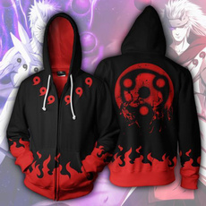 sharingan, 3D hoodies, Casual Hoodie, narutosweatshirt