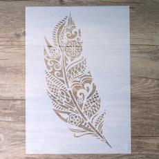 album, Decorative, stencil, Scrapbooking