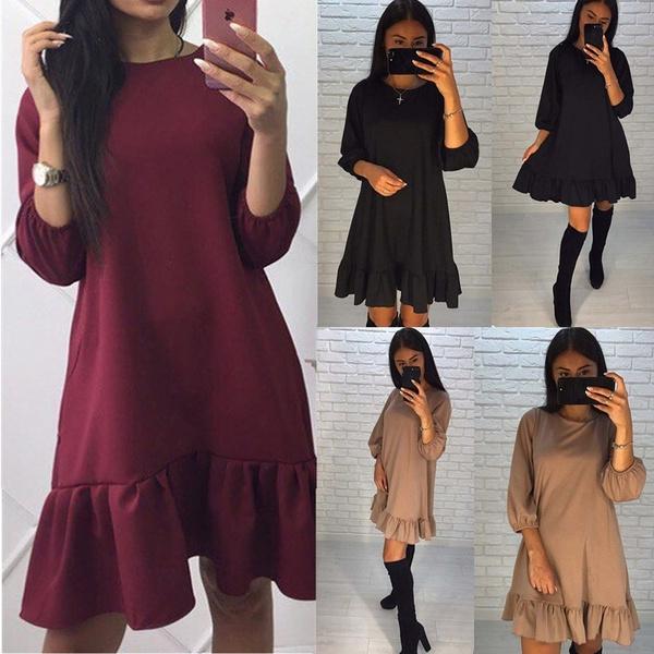 Summer, springdres, long sleeve dress, Sleeve