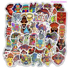 graffitisticker, Toy, decraction, ethnictotem