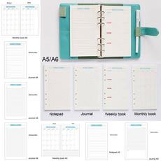 School, leaf, schedule, Journal