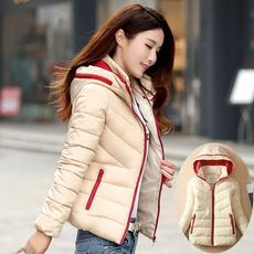 hooded, Winter, cottonpaddedjacket, winter coat