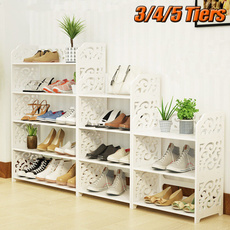 Hollow-out, shoesstorage, Wooden, Shelf