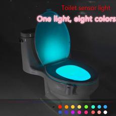 toilet, Bathroom, led, lights