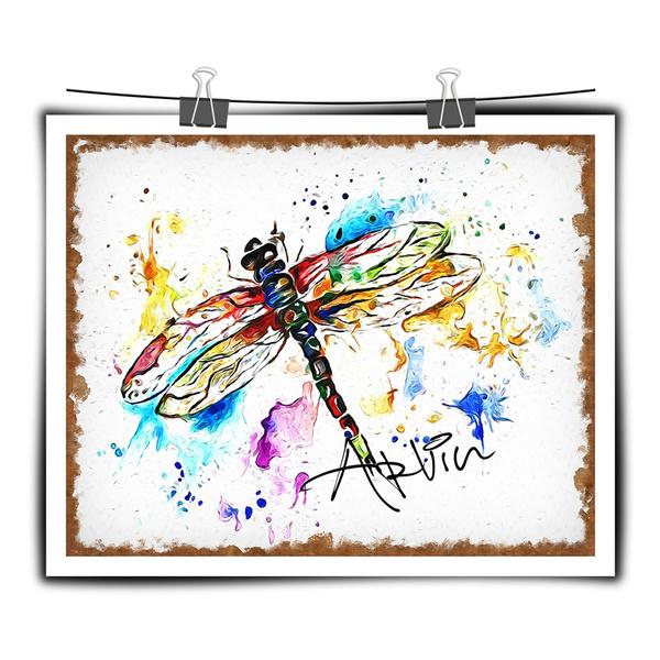dragon fly, Decor, art, Home Decor