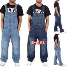 men's jeans, Plus Size, overallsjumpsuit, Denim
