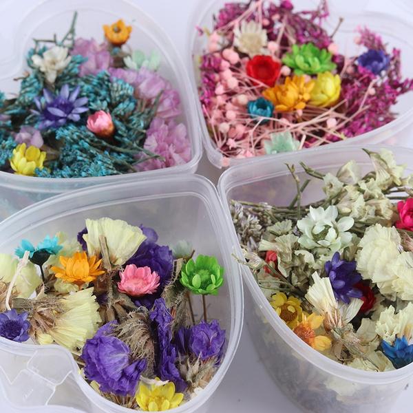 nail decoration, Flowers, art, colorfulflower
