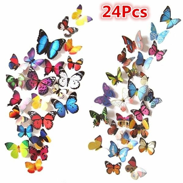 butterflywallsticker, Wall Art, Home & Living, walldecoration