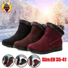 ankle boots, wintershoesforwomen, Winter, cottonbootsforwomen