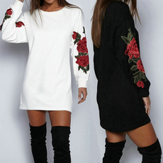 robepull, sweater dress, robepullfemme, Long Sleeve