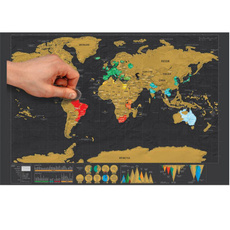 Map, woldmap, walldecoration, Travel