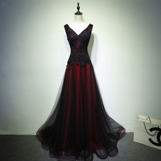 gowns, promgown, A-line, Dress