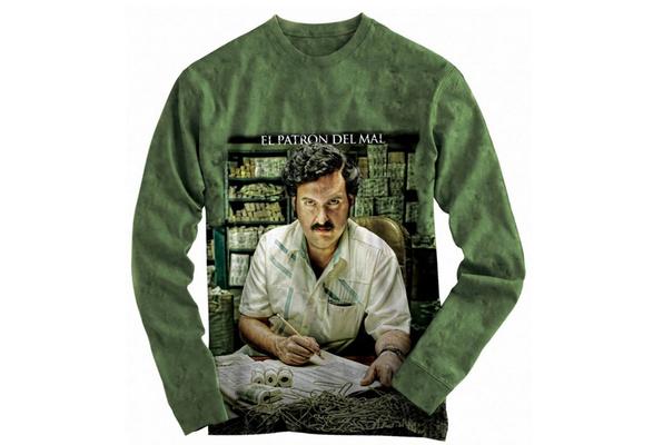 fenglinghua Sudaderas de Hombre hainanqing Pablo Escobar Printed Hoodies Sweatshirts for Men Women Unisex Pullover Hooded Shirts Baseball tee Tops