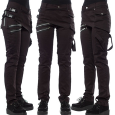 Women Pants, Goth, Fashion, Casual pants