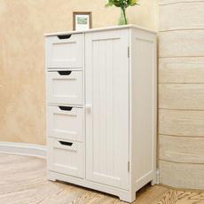 floorcabinetwhite, dresser, drawer, Home & Living
