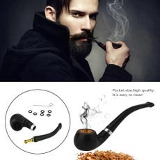 Men, tobacco, smokingtool, Herb