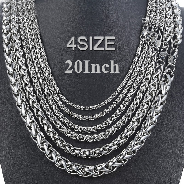 Steel, luxury mens fashion, Chain Necklace, mens necklaces