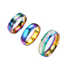Steel, rainbow, Fashion, gay