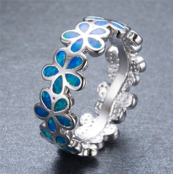 Sterling, fireopalring, Fashion, 925 sterling silver