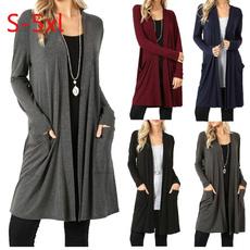 Plus Size, women coat, Long Sleeve, Coat