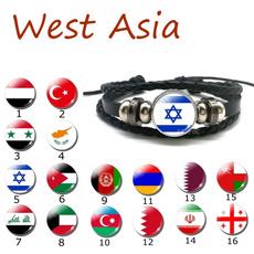 black bracelet, flagbracelet, flagjewelry, nationalflag
