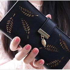 Fashion, leaf, Wallet, purses