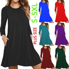 Mini, Plus Size, long sleeve dress, Sleeve