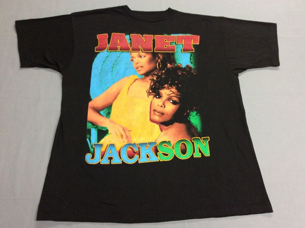Vintage 1995 Janet Jackson Tour T Shirt