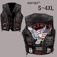 Sheep, motorcyclejacket, Vest, Fashion