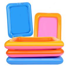 Box, sandtray, mudtoy, Inflatable