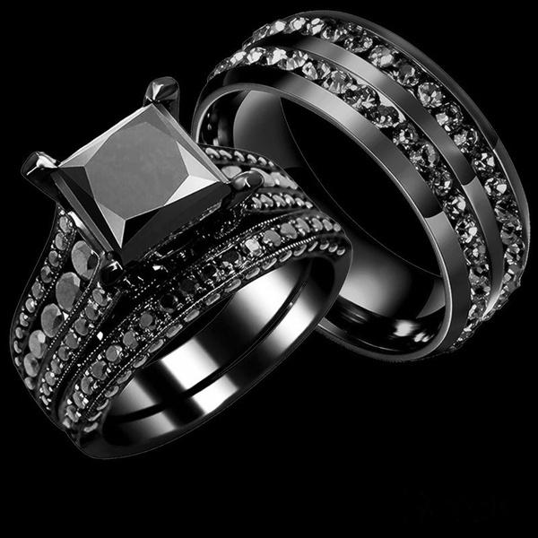 Steel, Cubic Zirconia, titanium steel, Stainless Steel