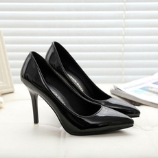 solid, Womens Shoes, PU, Color