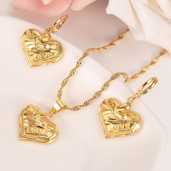 lovelovelyheart, Heart, Love, gold