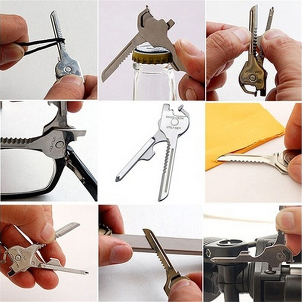 Steel, Pocket, Outdoor, Key Chain