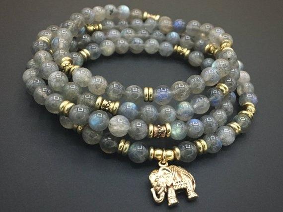 Yoga, Jewelry, 108prayerbead, Bracelet