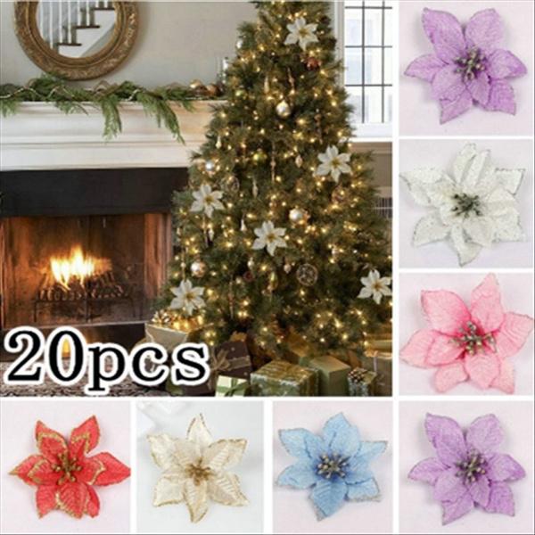 xmastreedecor, christmastreematerial, Christmas, Glitter