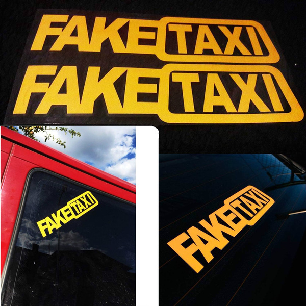 cardecor, faketaxisticker, Car Sticker, Cars