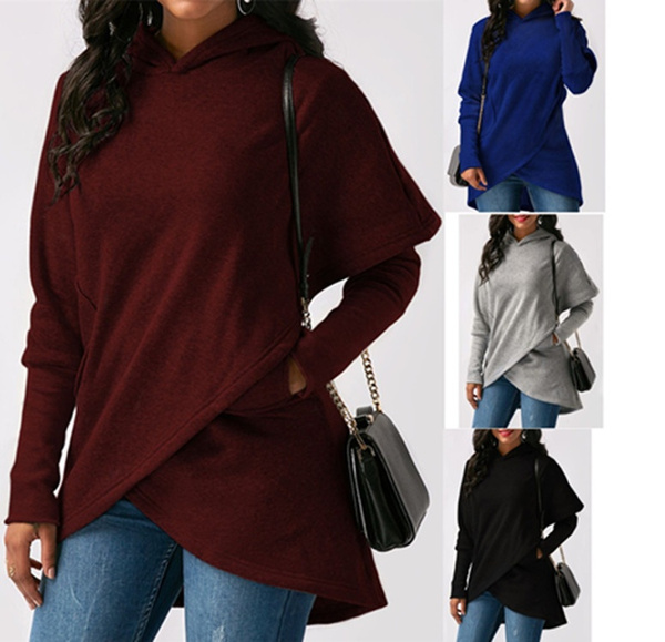 blousesforwomen, sweatshirtfemme, wintertop, Long sleeved