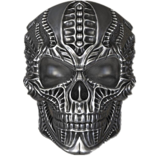 Goth, Bicycle, Sports & Outdoors, fashionskullring