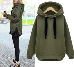 womenjumper, hooded, Zip, coatsampjacket